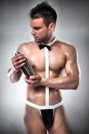 Body erotic barbatesc Waiter
