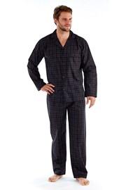 Pijama barbateasca Harvey Black Check Long