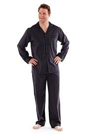 Pijama barbateasca Harvey Black Stripe Long