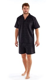Pijama barbateasca Harvey Black Check