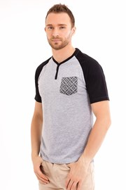 Tricou barbatesc MF Grey