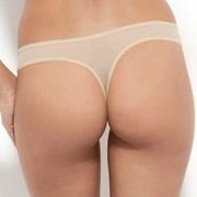 Tanga Gossard Glossies Nude dantelat