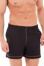 Pantalon scurt sport MF Black, pentru barbati