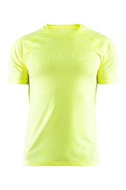 Tricou CRAFT Run Prime galben-neon