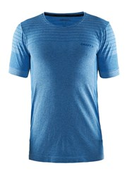 Tricou barbatesc Craft Cool Comfort Blue, material functional