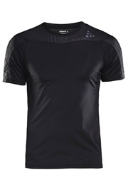 Tricou CRAFT Run Shade negru