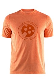 Tricou CRAFT Melange Graphic oranj