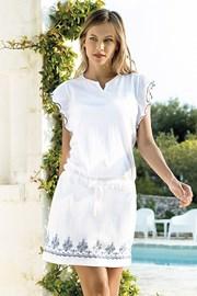 Rochie de vara Santorini, alb