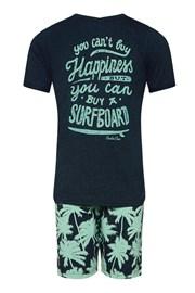 Pijama baieti Surfboard