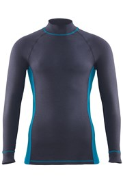 Bluza barbateasca Thermal Sports din material functional