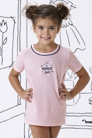 Tricou fetite Mary, din bumbac