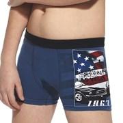 Boxeri baieti America albastru