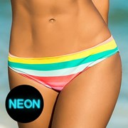 Slip costum de baie Pastel Stripes
