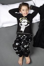 Pijama baieti CTM Scary