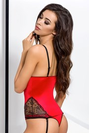 Corset seducator Brida Red