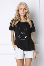 Pijama dama Cat Woman, scurta