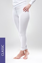 Colanti termici Classic, alb