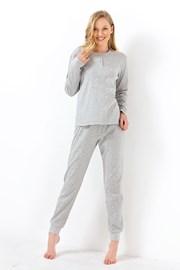 Pijama dama Sweet dreams, gri