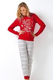 Pijama dama 3045 rosu