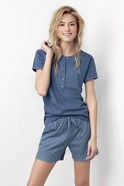 Pijama dama Joslin albastru