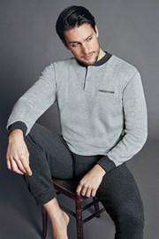 Set haine de casa pentru barbati Dominico Antracit