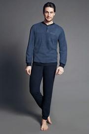 Set haine de casa pentru barbati Dominico Blue