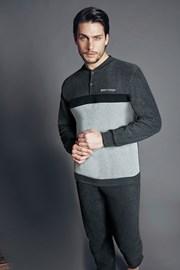 Set haine de casa pentru barbati Franco Antracit