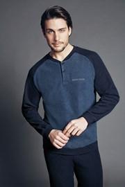 Set haine de casa pentru barbati Edoardo Blue