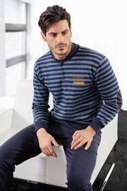 Pijama barbateasca ENRICO COVERI Athletic Blue