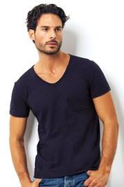 Tricou barbatesc Enrico Coveri 1512 Blue