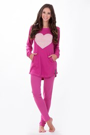 Pijama dama Big Heart