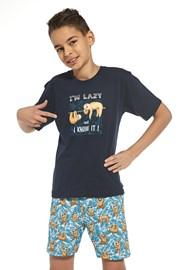 Pijama baieti I am lazy
