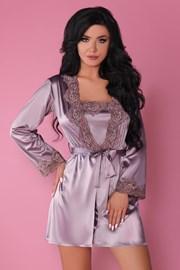 Set elegant Jacqueline Violet, satinat