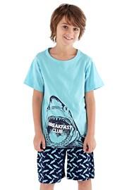 Pijama baieti Shark