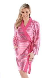Halat de baie Kimono, roz