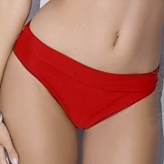 Slip costum de baie Whitney Red 2in1