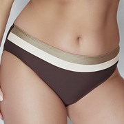Slip costum de baie Coco Brown