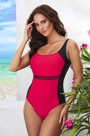 Costum de baie intreg Bret Red