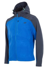 Hanorac barbatesc 4f Softshell Blue