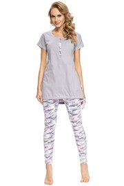 Pijama dama Army Grey