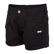 Pantalon scurt sport de dama 4f Black cotton