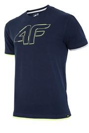 Tricou sport barbatesc 4F Navy
