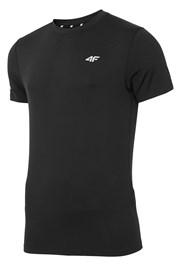 Tricou fitness barbatesc 4F Dry Control Black