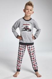 Pijama baieti Cornette Tractor
