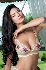 Sutien Bouquet Purple neintarit