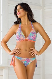 Sutien costum de baie Vacanze Power Flower
