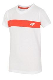 Tricou copii White 4F