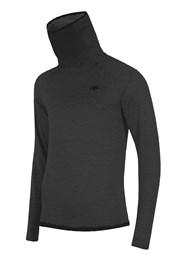Bluza barbateasca 4F Grey, material functional
