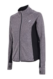 Bluza dama 4F Dry Control grey, material functional