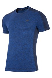 Tricou barbatesc 4F Dry Control Blue, material functional